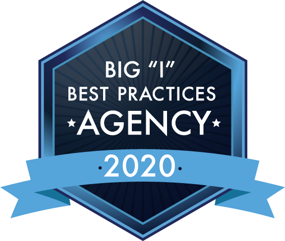 "2020 Big ""I"" Best Practices Agency Badge"