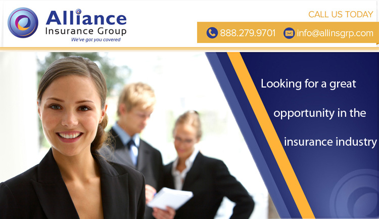 Looking for a great opportunity in the insurance industry