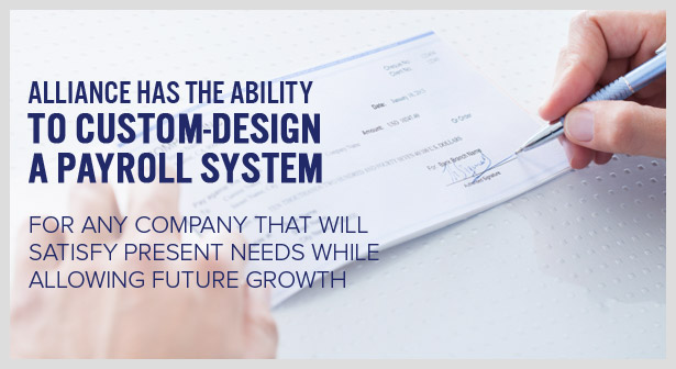 Custom Designed Payroll System